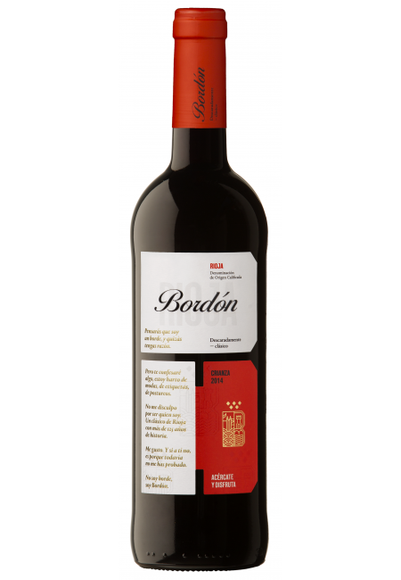 Вино Rioja Bordon Crianza DOC 2014 1,5 L