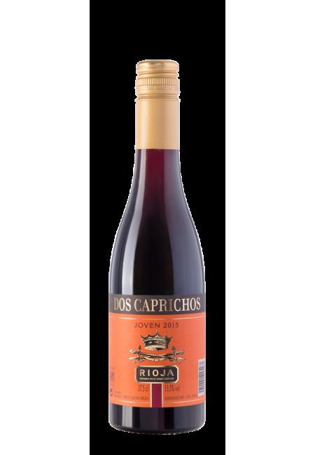 Вино Dos Caprichos Joven, 0.375 л.