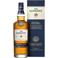 Виски «Glenlivet 18 Y.O. » в п/у 0,7л