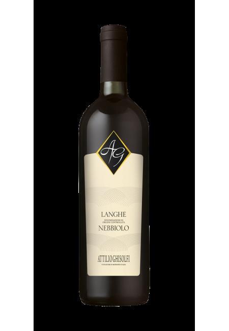Вино Langhe Nebbiolo DOC 2015