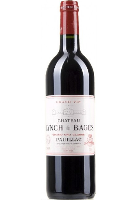 Chateau Lynch Bages Pauillac AOC 5-eme Grand Cru Classe 2001