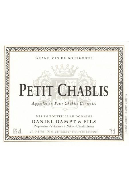 Вино Petit Chablis Daniel Dampt  AOC, 2015
