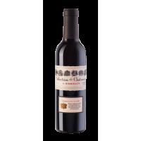 Вино Selection des Chateaux de Bordeaux Rouge 0,375л