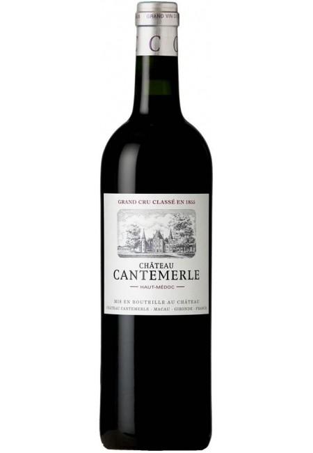 Вино Chateau Cantemerle 5- me Grand Cru,  Haut- Medoc, AOC 2017