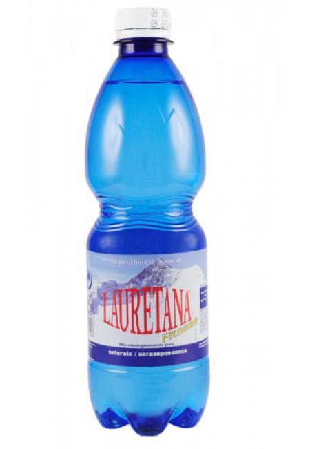 Минеральная вода LAURETANA NATURALE 0.5 л негазированная (ПЭТ)