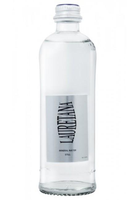 Минеральная вода LAURETANA PRECIOUS NATURALE 0,33 л негазированная (стекло)