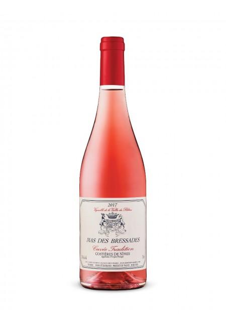 Вино Mas Des Bressades Cuvee Tradition Rose, AOP Costieres de Nimes, 2019