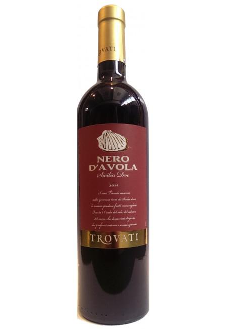 Вино Nero D`Avola Trovati DOC 2015