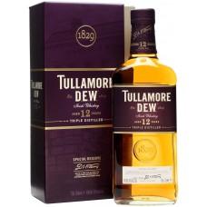 """Виски """"Tullamore Dew"""" 12 years, gift box, 0.7 л"""