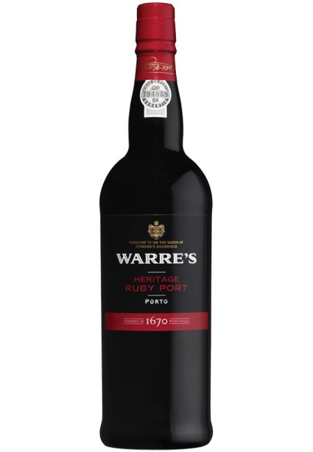 Портвейн Warre's Heritage Ruby, 750ml
